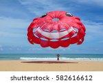 phuket  thailand   jun 19  2016.... | Shutterstock . vector #582616612