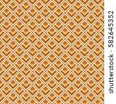 fashion seamless tile vector... | Shutterstock .eps vector #582645352