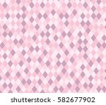 pink rhombus abstract pattern....   Shutterstock .eps vector #582677902