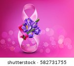 background to the 8th of march  ... | Shutterstock . vector #582731755