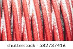 red cables | Shutterstock . vector #582737416