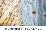 wooden | Shutterstock . vector #582737422