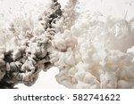 color drop in water | Shutterstock . vector #582741622