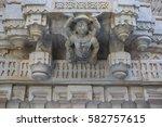 jain temple in ranakpur  india  ...   Shutterstock . vector #582757615