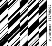 modern black and white seamless ... | Shutterstock .eps vector #582788032