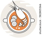 tom yum kung   infographic icon ...