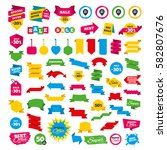 web banners and labels. special ... | Shutterstock .eps vector #582807676