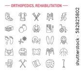 orthopedic  trauma... | Shutterstock .eps vector #582825802