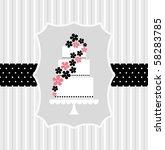 template frame design for... | Shutterstock .eps vector #58283785