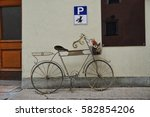 A Parking Bay For Bicycles And...