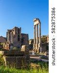 rome  italy   nov 11  2015 ... | Shutterstock . vector #582875386