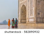 agra  india   november 9 ... | Shutterstock . vector #582890932