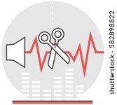 audio editor   infographic icon ...
