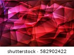 abstract background polygonal. ... | Shutterstock .eps vector #582902422