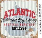 nautical design   sailor vector ... | Shutterstock .eps vector #582902836