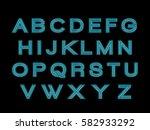 alphabet  | Shutterstock .eps vector #582933292