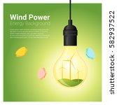 energy concept background with...   Shutterstock .eps vector #582937522