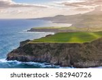 Coastline Of Sao Miguel Island...