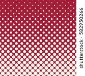 circles halftone seamless... | Shutterstock .eps vector #582950266