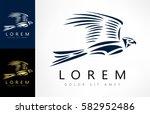 falcon logo | Shutterstock .eps vector #582952486