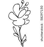 flower   Shutterstock . vector #58297150