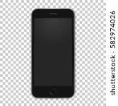 Vector Black Mobile Template...