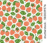 seamless vector pattern with...   Shutterstock .eps vector #583039576