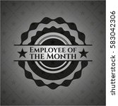 employee of the month retro... | Shutterstock .eps vector #583042306