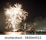 Fireworks Over Sydney Harbor...