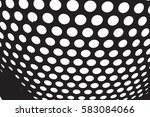 abstract overlay dotted grunge... | Shutterstock .eps vector #583084066