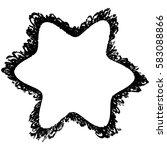 distressed bold postal stamp... | Shutterstock .eps vector #583088866