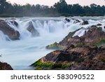 Khone Phapheng Waterfall...