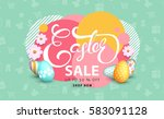 Easter Sale Banner Background...