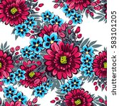 abstract elegance seamless... | Shutterstock . vector #583101205