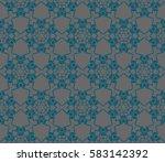 modern stylish texture.... | Shutterstock . vector #583142392