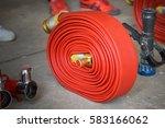 fire hose | Shutterstock . vector #583166062
