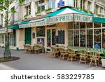 paris  france   may 24  2016 ... | Shutterstock . vector #583229785