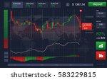 market trade. binary option....
