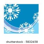fun snowflakes | Shutterstock .eps vector #5832658