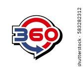 360 degrees | Shutterstock .eps vector #583282312