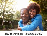 portrait of loving mature... | Shutterstock . vector #583311952