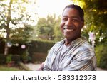 portrait of mature man in back... | Shutterstock . vector #583312378