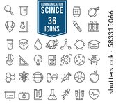 science icons  technology