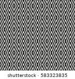 seamless vector geometric...   Shutterstock .eps vector #583323835