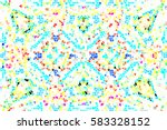mosaic colorful pattern for...   Shutterstock . vector #583328152