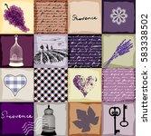 imitation of retro background... | Shutterstock .eps vector #583338502