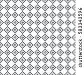 vector seamless pattern.... | Shutterstock .eps vector #583343596