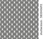 vector seamless pattern.... | Shutterstock .eps vector #583343692