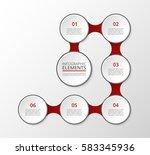 infographics template. metaball ...   Shutterstock .eps vector #583345936