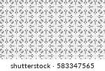 black and white ornament for... | Shutterstock . vector #583347565